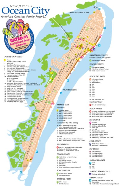 ocean city new jersey map - ocean city real estate for sale - island realty group
